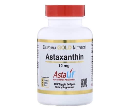 ขอแนะนำ + California Gold Nutrition Astaxanthin +