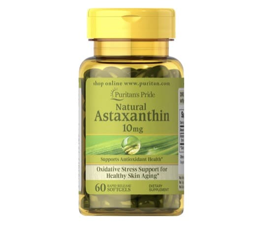 3. แอสตาแซนธิน ยี่ห้อ Puritan's Pride Natural Astaxanthin