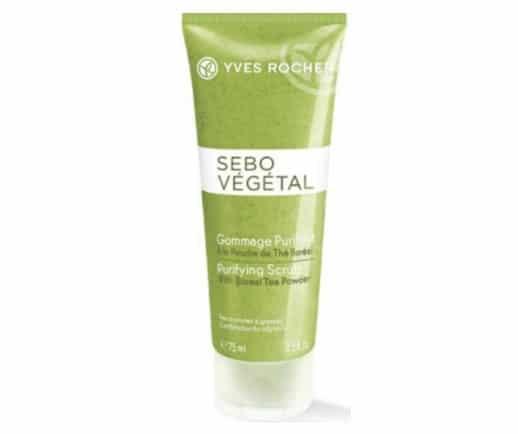 3. สครับหน้า ยี่ห้อ Yves Rocher Sebo Vegetal Purifying Scrub