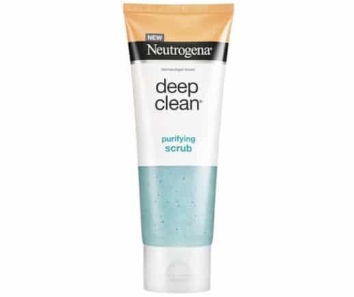 8. สครับผิวหน้า ยี่ห้อ Neutrogena Deep Clean Purifying Scrub