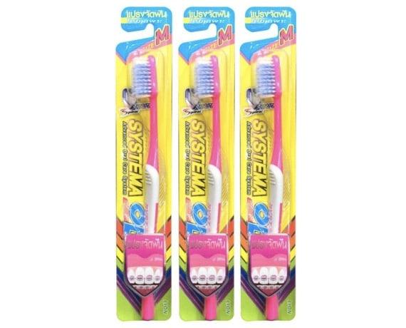 4. แปรงสีฟัน จัดฟัน ยี่ห้อ Systema OD S/M