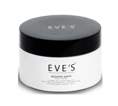4. ครีมทารักแร้ขาว ยี่ห้อ EVE'S Booster White Body Cream