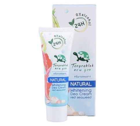 6. ครีมทารักแร้ขาว ยี่ห้อ Taoyaeblok New Gen Whitening Deo Cream