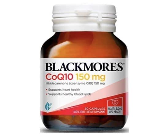 9. โคเอ็นไซม์ คิวเท็น ยี่ห้อ Blackmores Co Q10