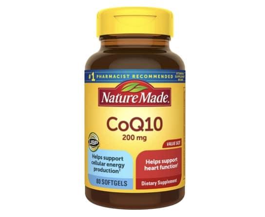 10. โคเอ็นไซม์ คิวเท็น ยี่ห้อ Nature Made Co Q10