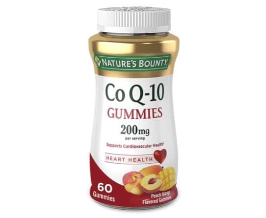 4. โคเอ็นไซม์ คิวเท็น ยี่ห้อ Nature's Bounty Co Q10