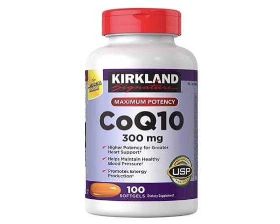 2. โคเอ็นไซม์ คิวเท็น ยี่ห้อ Kirkland Signature Co Q10