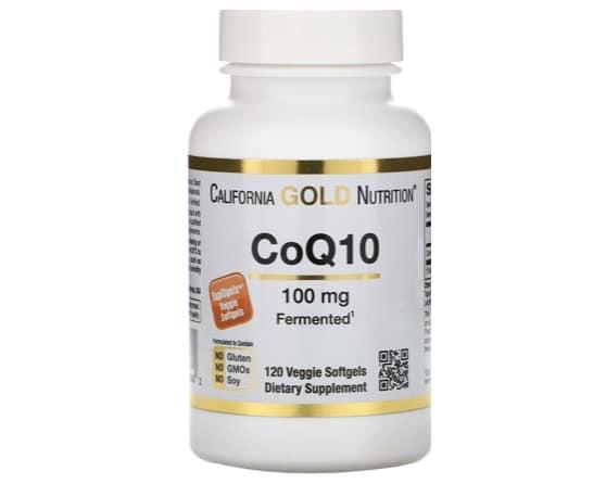 8. โคเอ็นไซม์ คิวเท็น ยี่ห้อ California Gold Nutrition Co Q10