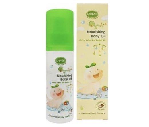6. ยี่ห้อ Enfant Organic Nourishing Baby Oil