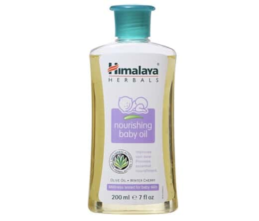 7. ยี่ห้อ Himalaya Since 1930 Nourishing Baby Oil