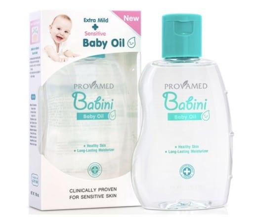 10. ยี่ห้อ Provamed Babini Baby Oil