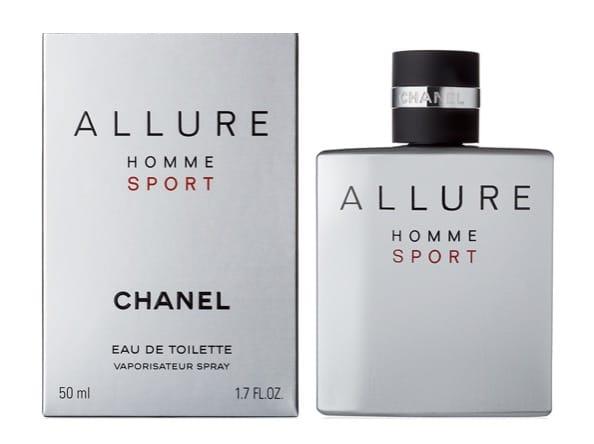 9. น้ำหอม Chanel ผู้หญิง รุ่น Chanel Allure Homme Sport EDT