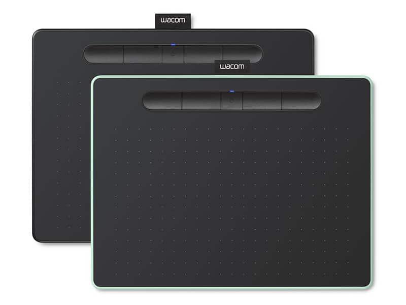 10. เมาส์ปากกา ยี่ห้อ Wacom Intuos M Bluetooth (CTL-6100WL)