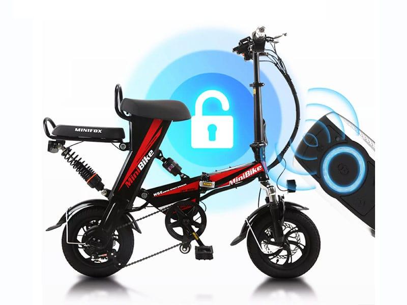 5. จักรยานไฟฟ้า ยี่ห้อ JIESUQI Mini