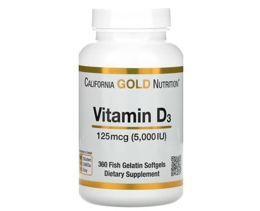 2. วิตามิน D3 ยี่ห้อ California Gold Nutrition