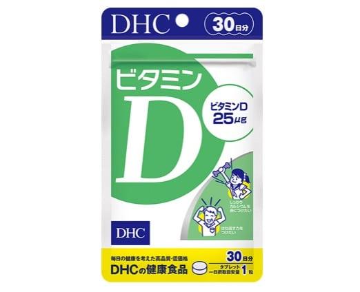 4. วิตามิน D3 ยี่ห้อ DHC