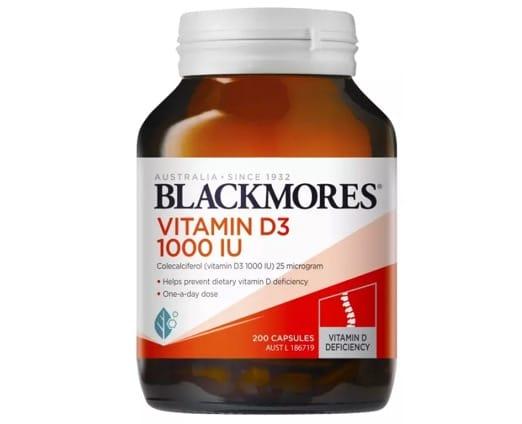 8. วิตามิน D3 ยี่ห้อ BLACKMORES