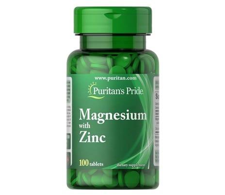 2. ยี่ห้อ Puritan's Pride Magnesium with Zinc