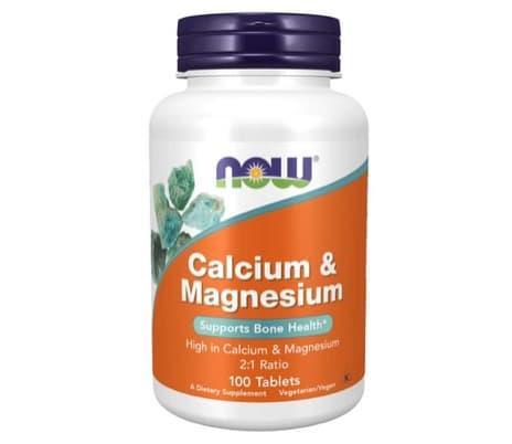 7. ยี่ห้อ Now Foods Calcium & Magnesium