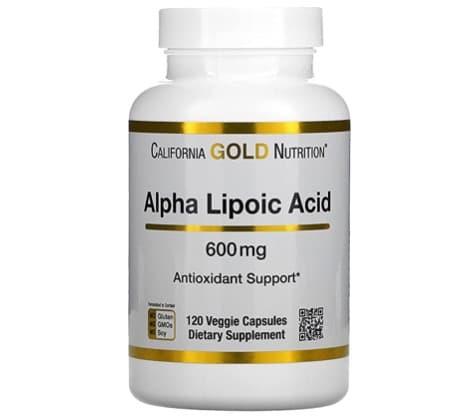6. กรดอัลฟาไลโปอิก ยี่ห้อ California GOLD nutrition