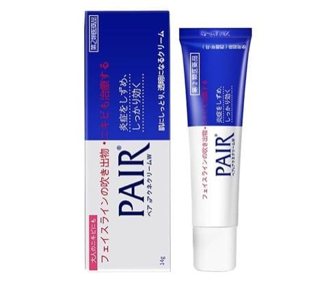 1. ยี่ห้อ PAIR Acne Cream W