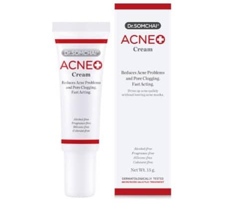 10. ยี่ห้อ Dr.Somchai Acne Cream