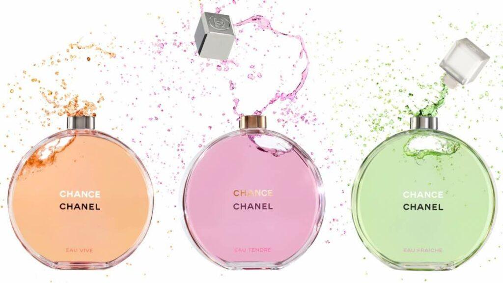 1. น้ำหอม Chanel ผู้หญิง รุ่น Chanel Chance Eau Tendre