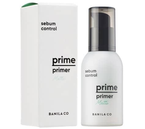 4. ไพรเมอร์คุมมัน ยี่ห้อ BANILA CO Prime Primer Matte