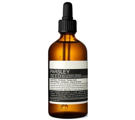 5. เซรั่ม ผิวแพ้ง่าย ยี่ห้อ Aesop Parsley Seed Anti-Oxidant Serum