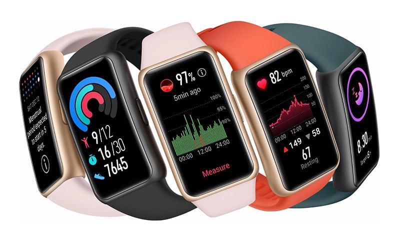 Smart Watch ราคาไม่เกิน 2000 บาท Huawei Band 6 (SpO2)