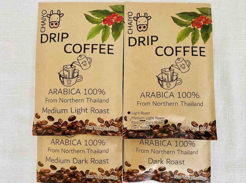 4. รีวิว ดริปกาแฟ ยี่ห้อ CHAIYO drip coffee