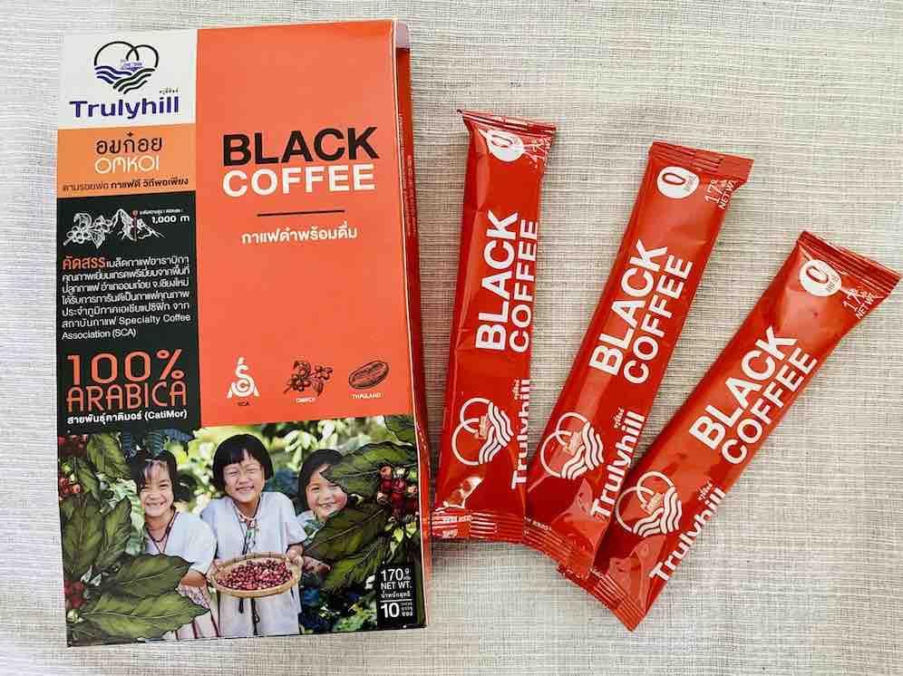 5. รีวิว กาแฟดำ ยี่ห้อ Trulyhill Black Coffee