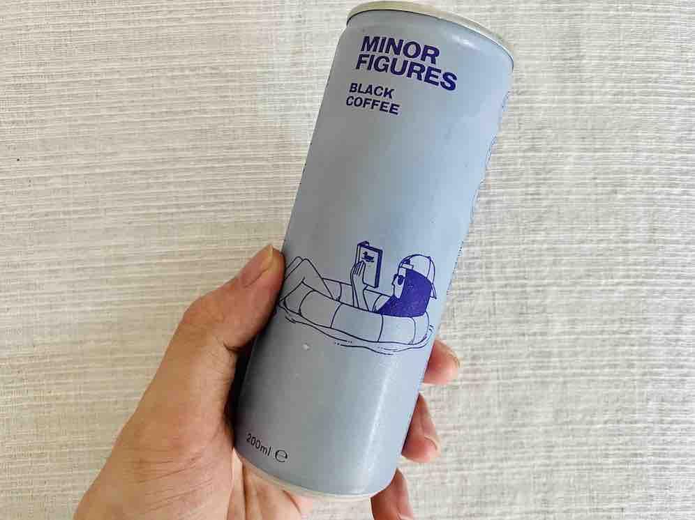 6. รีวิว ยี่ห้อ MINOR FUGURES Black Coffee