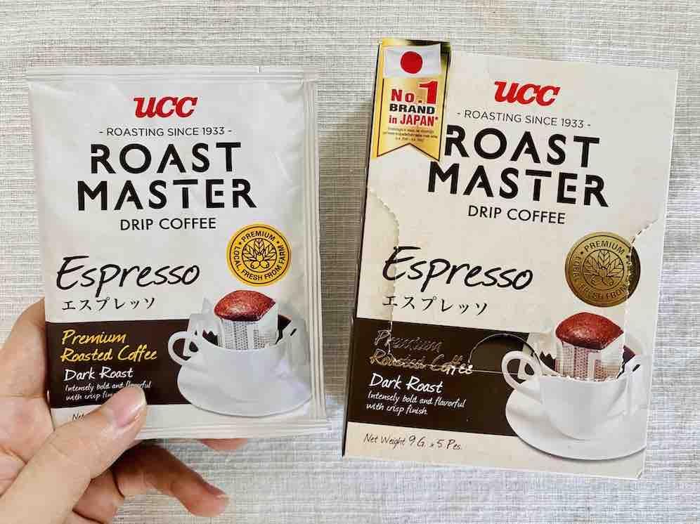 7. รีวิว กาแฟดำ ยี่ห้อ UCC Drip Coffee Espresso