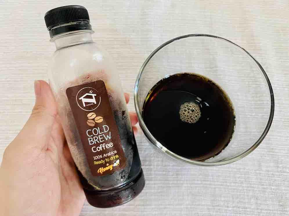 8. รีวิว ไม่มียี่ห้อ Home made Cold Brew Coffee