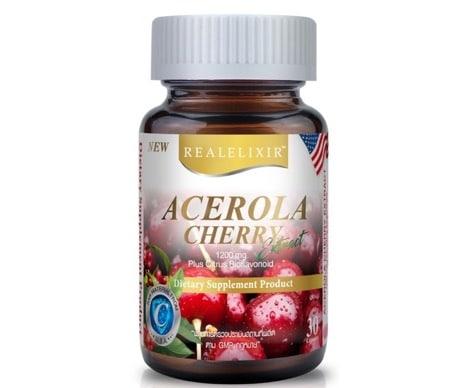 5. อาหารเสริม Acerola Cherry ยี่ห้อ Real Elixir