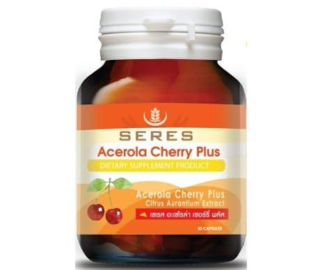 ขอแนะนำอาหารเสริมผิวขาว Acerola Cherry ยี่ห้อ + SERES +