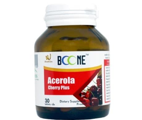 7. อาหารเสริม Acerola Cherry ยี่ห้อ BOONE