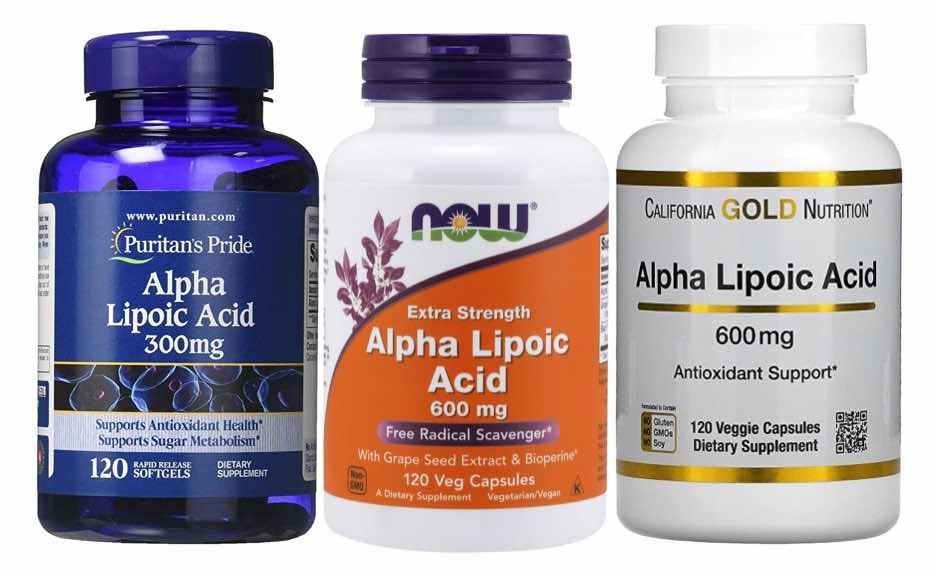 อาหารเสริมผิวขาว Alpha Lipoic Acid (ALA)