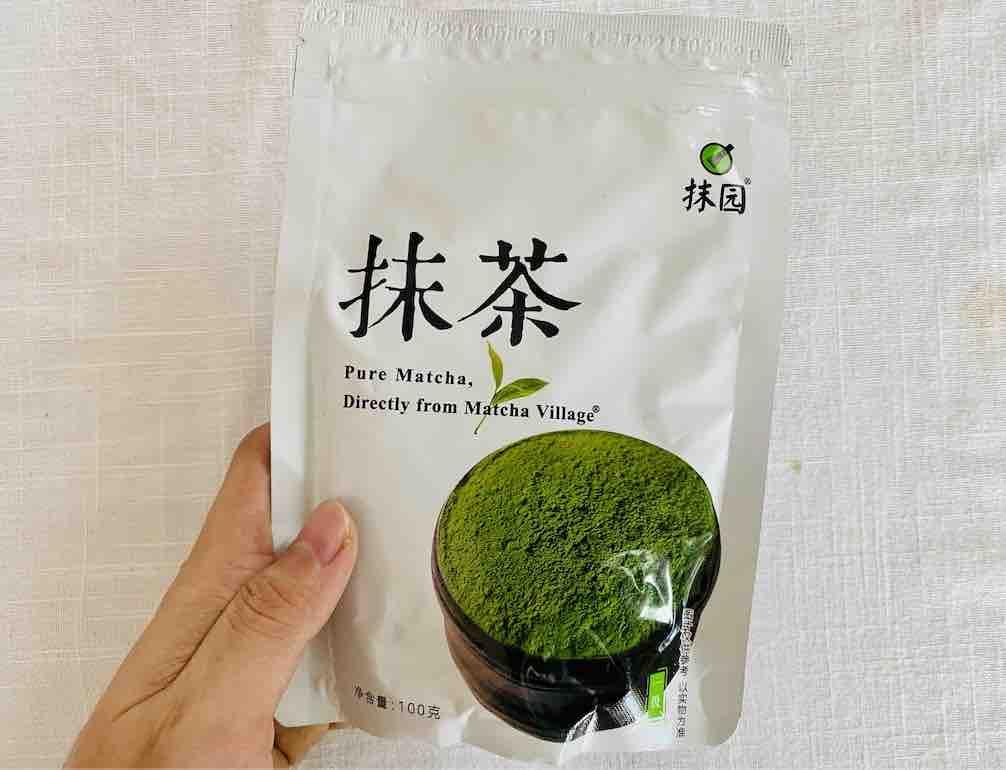 10. รีวิว ผงชาเขียว มัทฉะ ยี่ห้อ 抹茶 นำเข้าจากประเทศจีน