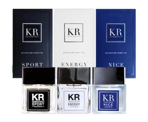 6. น้ำหอมผู้ชาย ราคาถูก ยี่ห้อ KR Handsome Perfume