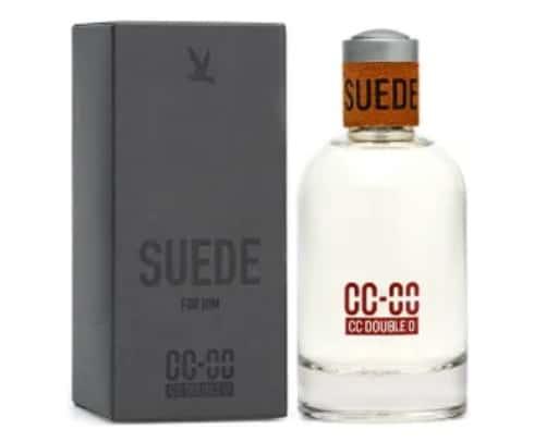 8. น้ำหอมผู้ชาย ราคาถูก ยี่ห้อ CC DOUBLE O SUEDE FOR HIM