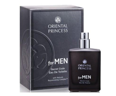 9. น้ำหอมผู้ชาย ราคาถูก ยี่ห้อ Oriental Princess for MEN Secret Code Eau de Toilette