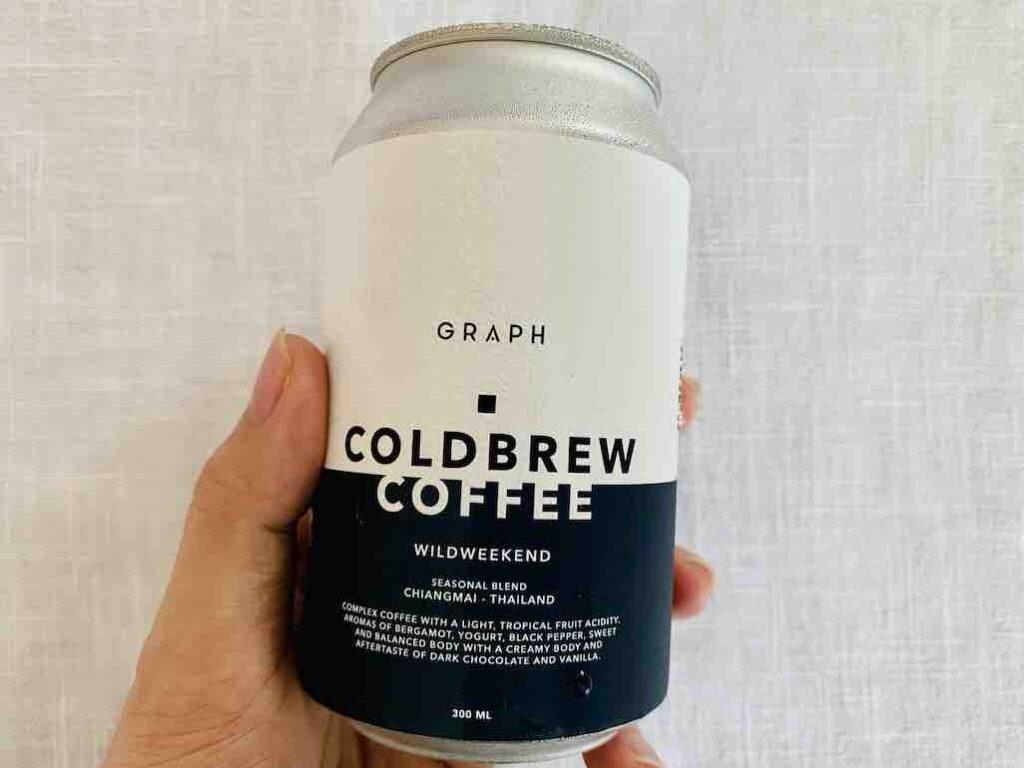 1. รีวิว กาแฟ Cold Brew ยี่ห้อ GRAPH Wildweekend