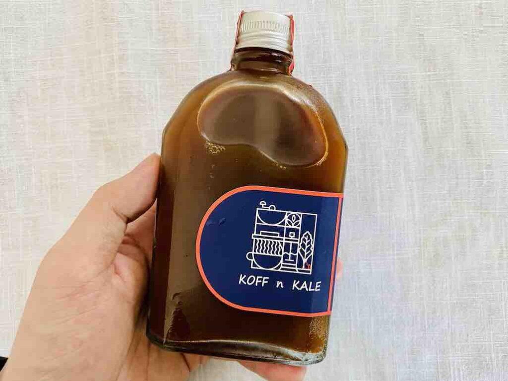6. รีวิว Cold Brew Coffee ยี่ห้อ KOFF n KALE