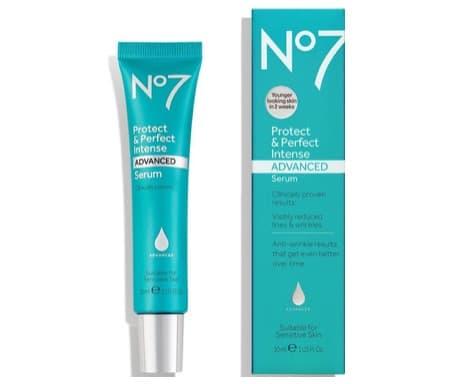 6. ยี่ห้อ No7 Protect & Perfect Intense ADVANCED Serum