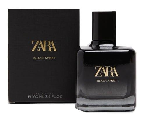 4. น้ำหอมผู้หญิง ราคาถูก ยี่ห้อ Zara Black Amber