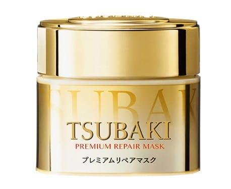 7. ครีมหมักผม ยี่ห้อ Tsubaki ซึบากิ พรีเมี่ยม รีแพร์ มาส์ก