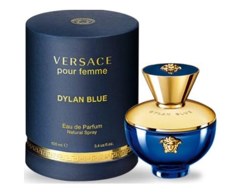 6. น้ำหอม Versace รุ่น Pour Femme Dylan Blue EDP