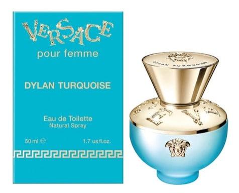 10. น้ำหอม Versace รุ่น pour femme dylan turquoise edt